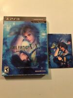 NEW FINAL FANTASY X / X-2 HD REMASTER LIMITED EDITION PS3 +Bonus Art Cards