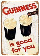 Guinness Tin Sign Dublin Ireland Irish Stout Beer Is Good For You Lovely Day
