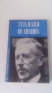 Teilhard de Chardin - Wildiers - Editions Universitaires (1961)