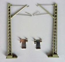 Marklin HO Catenary Overhead Bridge Masts 7511 (2pc) New