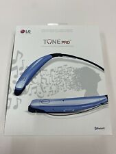 New listing Lg Tone Infinim Hbs-900 Blue Neckband Headsets for Mobile