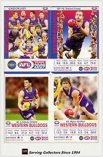 2009 AFL Teamcoach Trading Card Base Team set Western Bulldogs (12)