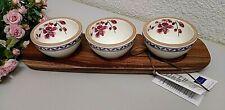 4tlg. Villeroy & Boch ARTESANO Provencal Lavendel Dipschälchen ca. 8cm NEU V&B