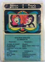 Golden Greats Classics IV 8 Track Tape ElectronicsRecycled.com