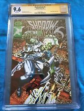 Shadowhawk #4 - Image - CGC SS 9.6 NM+ - Signed by Erik Larsen - Savage Dragon
