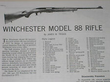 WINCHESTER  MODEL 88 RIFLE EXPLODED VIEW