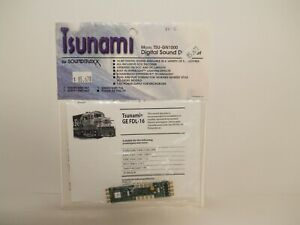 SoundTraxx 828056 Tsunami TSU-GN1000 GE FDL-16 DCC Sound Decoder