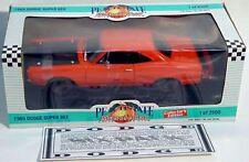 ERTL 1/18 1969 Dodge Super Bee HEMI 440 ORANGE Car GMP #7042 NEW American Muscle