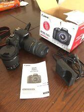 Canon EOS 750D 24.2MP reflex digitale con obiettivo 18-55mm e 70-300mm Lens