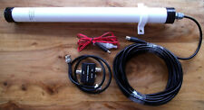 Compact Coil Active Antenna (DC) 500kHz - 30MHz. Made in Dorset UK.