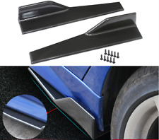 Car Side Skirts Car Side Fender Skirt 3D Carbon Fiber Smart Car Side Skirt