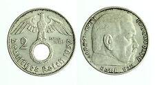 pcc1721_2) GERMANY  2 REICHS MARK 1937 A