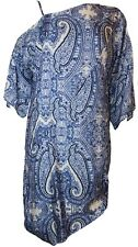 Charlie Brown Womens One Shoulder Dress in Blue Colour Size 8 As New