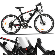 "26"" ELECTRIC BIKE MOUNTAIN BICYCLE 250W LITHIUM BATTERY POWER CITY CYCLING EBIKE"
