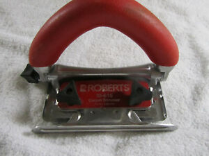 ROBERTS Conventional Carpet Trimmer 5 Position Non-slip Handle 10-616