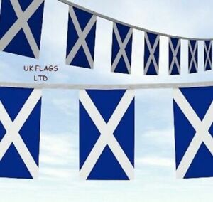 10 Metre Scotland NAVY BLUE RUGBY Flag Party Bunting SPEEDY DELIVERY