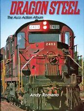 DRAGON STEEL: all-color ALCo Action Album (every ALCo model on 90 railroads) NEW