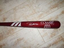 Hunter Morris Signed Autographed Game Used 2006 Aflac Tournament Bat Uncracked