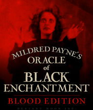 BLOOD EDITION! Mildred Payne's Oracle of Black Enchantment, PREORDER APRIL 1