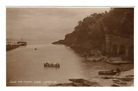 The Ferry - Looe Real Photo Postcard c1920s
