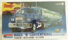 Monogram Mack R Conventional and Fruehauf Tanker SnapTite Model Kit 1/32 Scale