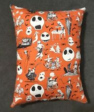 "Throw Pillow  13"" x 10"" Beautiful Handmade Nightmare Before Christmas Accent"