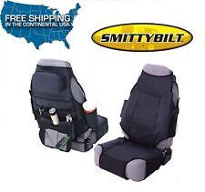 Smittybilt Katch-All Front Seat Cover Jeep 76-86 CJ-7 87-13 Wrangler 56601 Black