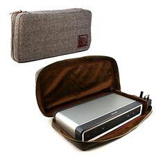 Tuff-Luv Tweed case für Bose Soundlink Bluetooth Speaker 3 + NFC tag - Braun