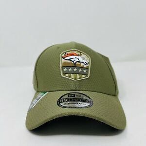 New Era 39Thirty Denver Broncos NFL Salute to Service USA Fitted Hat Cap M/L
