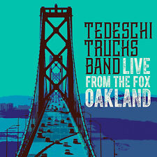 Live From The Fox Oakland Tedeschi Trucks Band 0888072023161