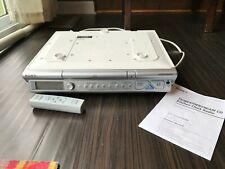 Sony Mega Bass Under Cabinet Radio Fm Am Cd Kitchen Clock Radio Icf-Cd543Rm