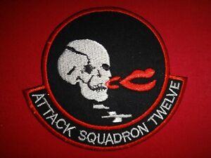 US Navy Attack Squadron VA-12 FLYING UBANGIS Vietnam War Patch