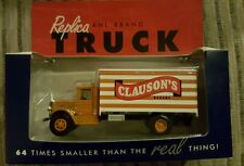 "Tonkin Replicas 1:64 scale Mack Bm Delivery Truck, ""Clauson'S Bakery"" Diecast"
