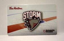 Tim Hortons 2013 OHL Guelph Storm gift card FD 36327 series 6091