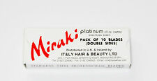 IT&LY MIRAKI PACK OF 10 DOUBLE SIDED BLADES