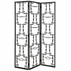 Mid Century Modern Brutalist Abstract Room Divider Screen