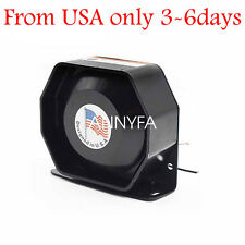 200W Compact Loud Speaker PA System Horn Emergency Warning Sir  Universal 12V