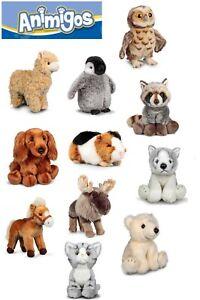 Tobar Animigos Wold Of Nature Soft Animal Plush Toy Pet XMAS Kids Gift