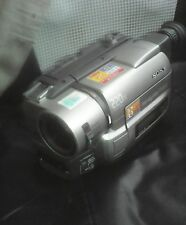 SONY VIDEO 8/hi8CAMCORDER,MODEL CCD-TRV55E,MADE IN JAPAN,FOR SPARES/REPAIRS ONLY