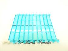LEGO 1 X Blanc et trans bleu Rouleau Obturateur Porte/Garage/Feu