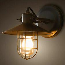 Vintage Industrial Wall Light Sconce Steampunk Edison Lamp Metal Retro Fixture