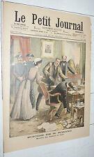 PETIT JOURNAL 1903 ITALIE SUICIDE ROSANO / AFRIQUE COLONIES ALLEMANDES MASSACRE