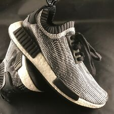 Adidas NMD Runner PK Glitch Camo Black White Nomad s79478 Great condition Mens 6
