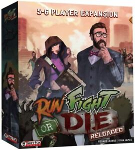 Run Fight or Die: Reloaded 5-6 Player Expansion Board Game