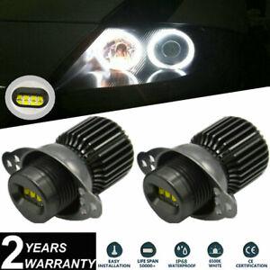 2x 80W LED Angel Eyes Halo Ring Bulbs Kit CREE XBD For BMW E90 E91 LCI 2008-2011