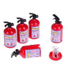 1xPencil sharpener fire extinguisher shape student stationery for kids prizes CN