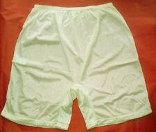 3 Pair IVORY Size 12 Long Leg Nylon Tricot No Cotton Crotch Panty USA CLOSE OUT