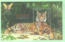 Malaysia 2013 MS Ovpt. Bandung Exhibition 2014 ~ Mint