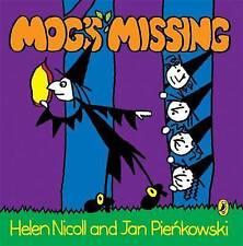 Mog's Missing. by Helen Nicoll and Jan Pienkowski (Meg & Mog)-ExLibrary
