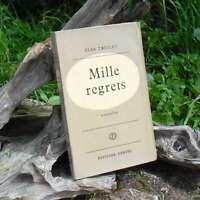 """Elsa TRIOLET  """"Mille regrets"""" Editions Denoël, 1960"""